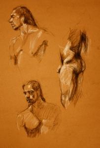 naked man study 8