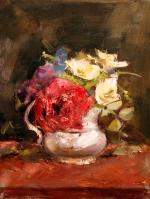 roses still life