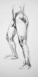 naked man study 5