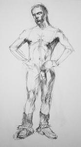 naked man study 6