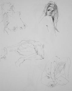 naked woman study 1