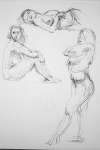 naked woman study 2