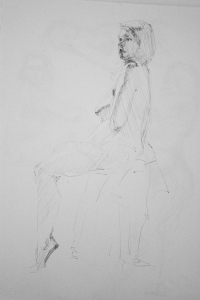 naked woman study 3