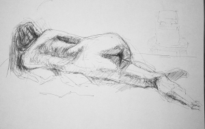 naked woman study 4