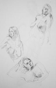 naked woman study 5
