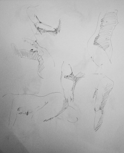 2 minute poses female torso