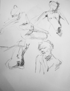 2 minute poses female