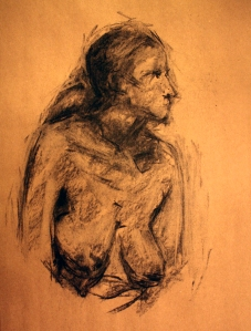 female figure 2 sketches